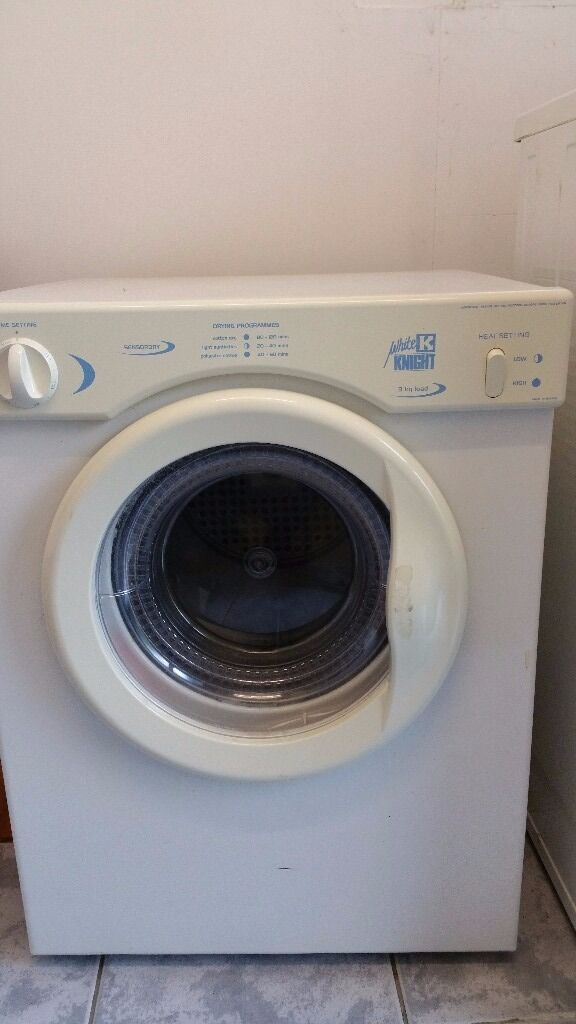 White Knight vented tumble dryer CL382