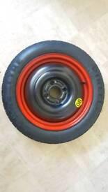 Pirelli spare tyre rim wheel t 125/80 R15 15 Ford focus
