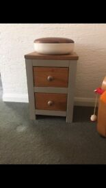 Annie Sloan shabby chic bedside table