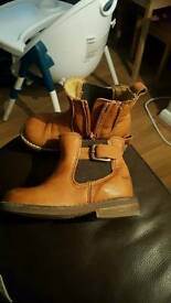 2 pairs girls boots size 5 next