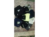 Men's Polo shirts, T-shirts and short sleeve shirts size M, L, XL and XXL