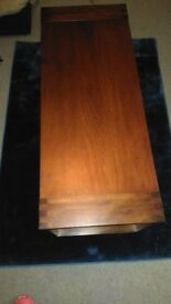 NEXT Coffee Table - Mango Wood - Large with Storage