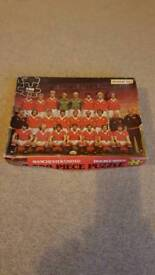 Manchester United Double Sided Jigsaw 500 Pieces Complete Vintage Ingham Day