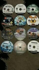 Ps2 games bundle 38 games