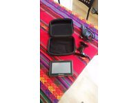 MYGUIDE SAT NAV SYSTEM MG4228WE GOOD CONDITION UK AND IRLAND MAPS WITH STAND