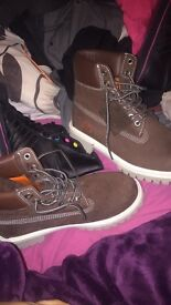 Timberland boots look brand new!!!!!
