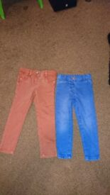 Girls Jeans - 2 pairs for Age 3 Years