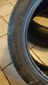 Tyres 245 45 19 run flat