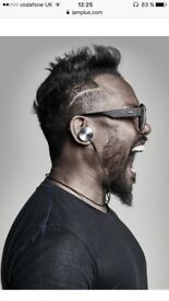 "Bluetooth earphones ""Buttons by Will I Am"""