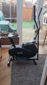 Opti Exercise bike/Cross trainer