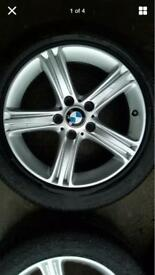BMW Wheels with winter tyres