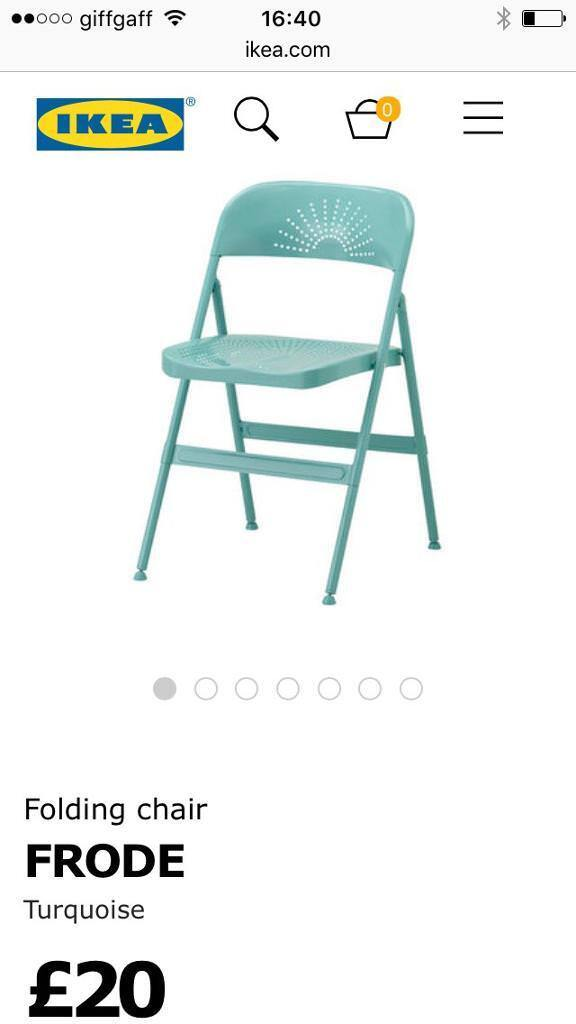Pleasing 2 Ikea Frode Folding Chairs 15 For Both In Holywell Flintshire Gumtree Lamtechconsult Wood Chair Design Ideas Lamtechconsultcom