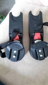 Maxi cosi/ Aton cybex car seat adaptors