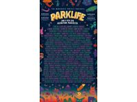 Selling 3 x Parklife Festival Tickets - Weekend General Admission