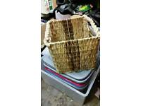 Shabby rustic basket no damage like new