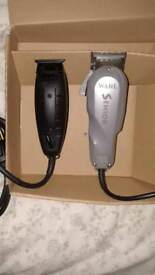 Andis blackout limited edition and Wahl seniors for sale