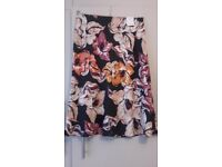 M&S PULL ON SKIRT - BNWT - SIZE 14 - NAVY MIX