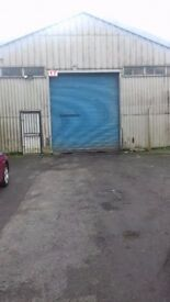 Industrial Unit with Roller Shutter and CCTV Security To Let Denholme Bradford