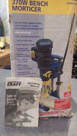 power craft 370w bench morticer
