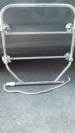 Chrome Electric Towel Rail / Radiator