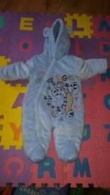 Disney Tigger snow suit