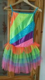 Girls dance costume age 12-13 yrs