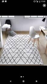 La Redoute Fedro Graphic print rug