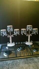 Two Candelabras