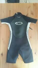 TWF Kids 'shortie' wetsuit