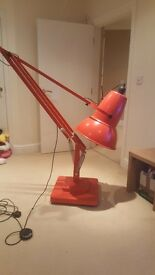 Giant red pixar lamp