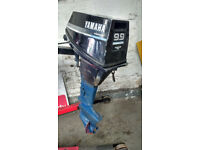 Yamaha 9.9BE 4 Stroke Outboard Motor -Spares/Repairs