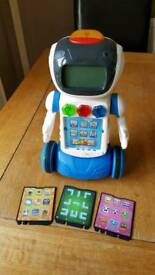 V tech gadget the learning robot