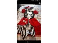 Girls pirate fancy dress 11 -13 yrs