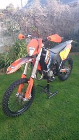 KTM EXC 125 road registered
