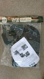 Ryde shield handle bar muffs motorbike moped new