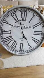 Brand new Shabby chic large wall clock