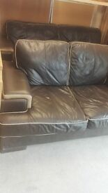 SET 3+2 seater Sofas *Real Leather*