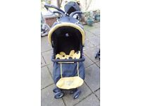 City Bug Petite Star pushchair.