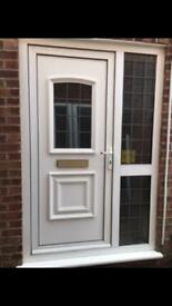 Complete upvc door and panels
