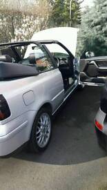 Vw golf cabriolet 2.0 petrol AV-GE .reduced price as need to sell as moving home.