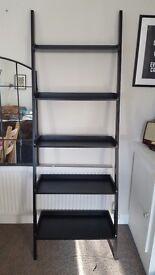 Habitat Jessie wide leaning ladder style bookcase
