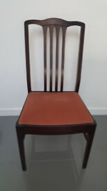 Stag Table and 4 Chairs Excellent Condition