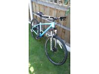carrera vulcan unisex brand new brake cabels just fitted 16inch frame 26 inch wheels
