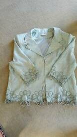 Gina Bacconi 3 Piece Suit Size 24