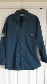 Boys XS Scout shirt