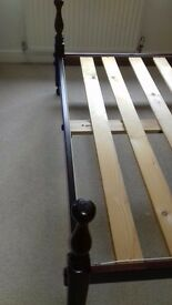 Mahogany King Size Bed Frame For Sale