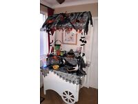 Old Fashioned Sweetie Cart
