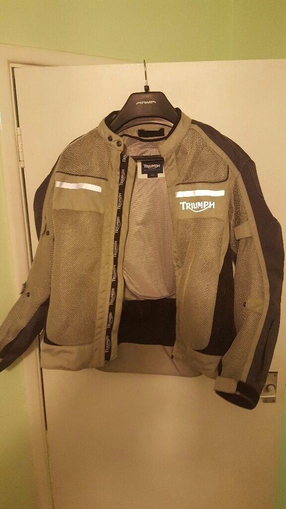Triumph jacket