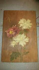 Vintage canvas picture