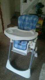 High chair very sturdy